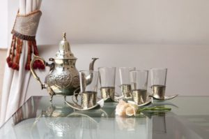 Moroccan mint tea is not only tasty - it's nutritious!